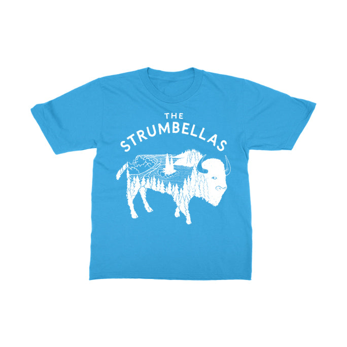 The Strumbellas - Bison - Turquoise YOUTH Tee