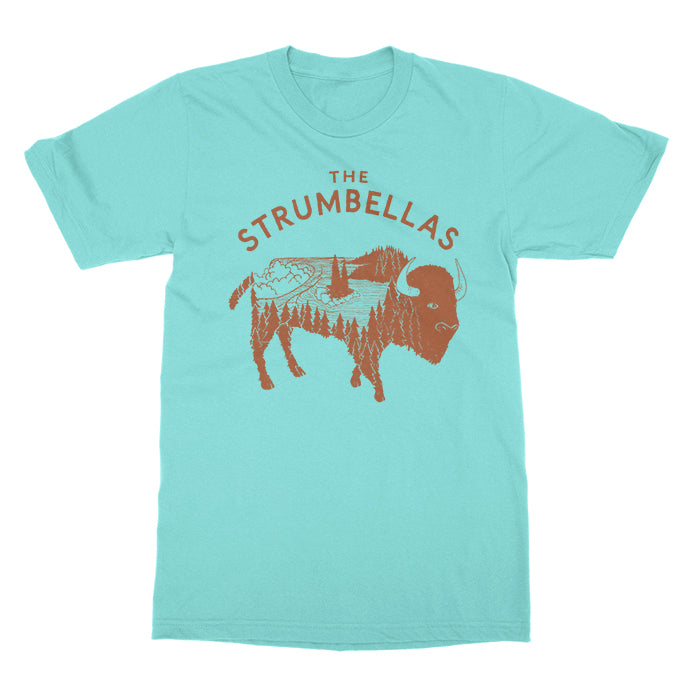The Strumbellas - Bison - Celadon Tee