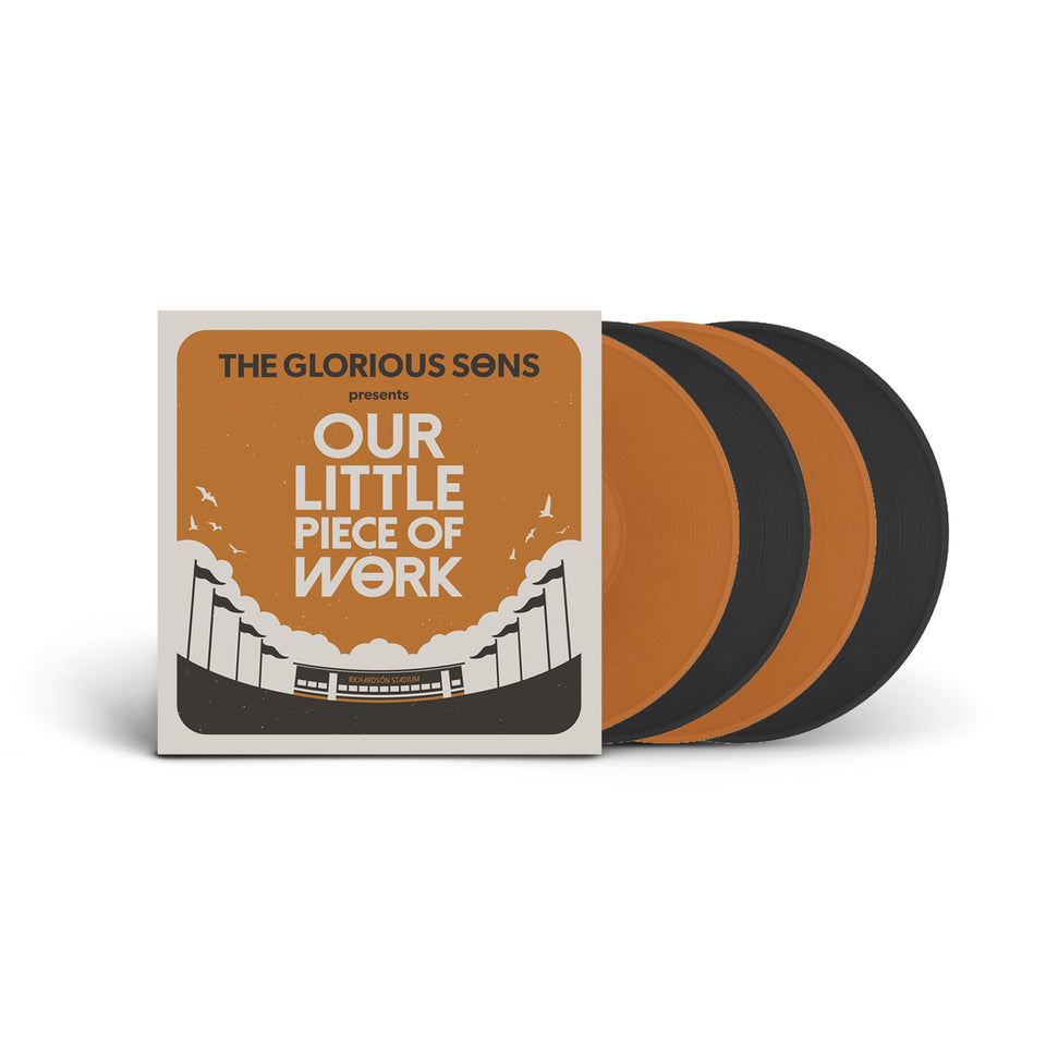 PRE ORDER - The Glorious Sons - Our Little Piece Of Work - Live at Richardson Stadium - 4 Vinyl LP Set