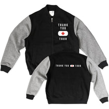 Thank You Canada Tour - Official Varsity Jacket - Black