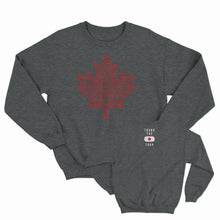 Thank You Canada Tour - Leaf Crew Sweater - Dark Heather
