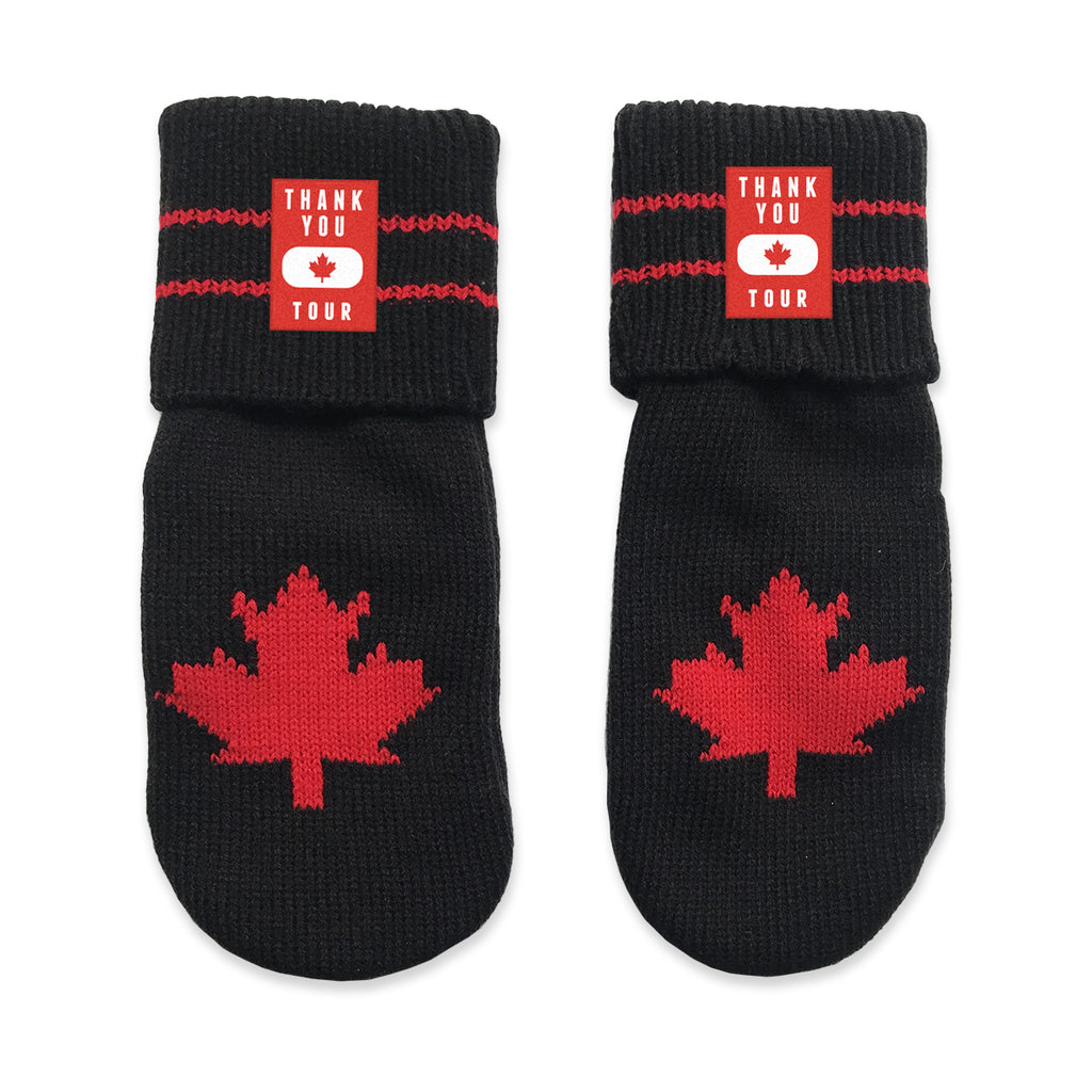 Thank You Canada Tour - Custom Mitt Set