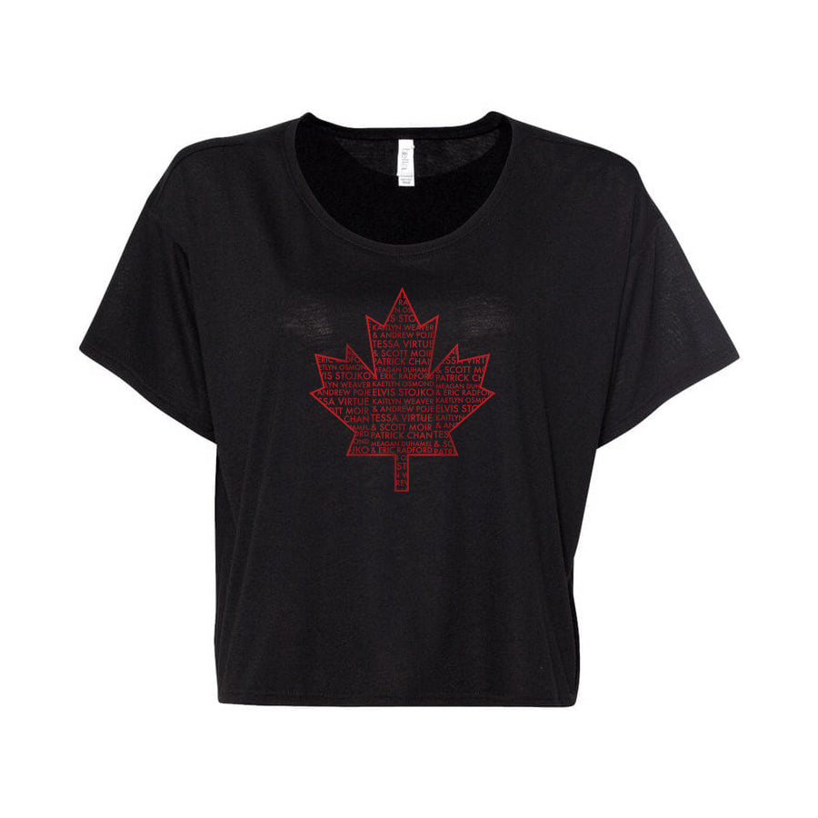 Thank You Canada Tour - Ladies Flowy Boxy Tee