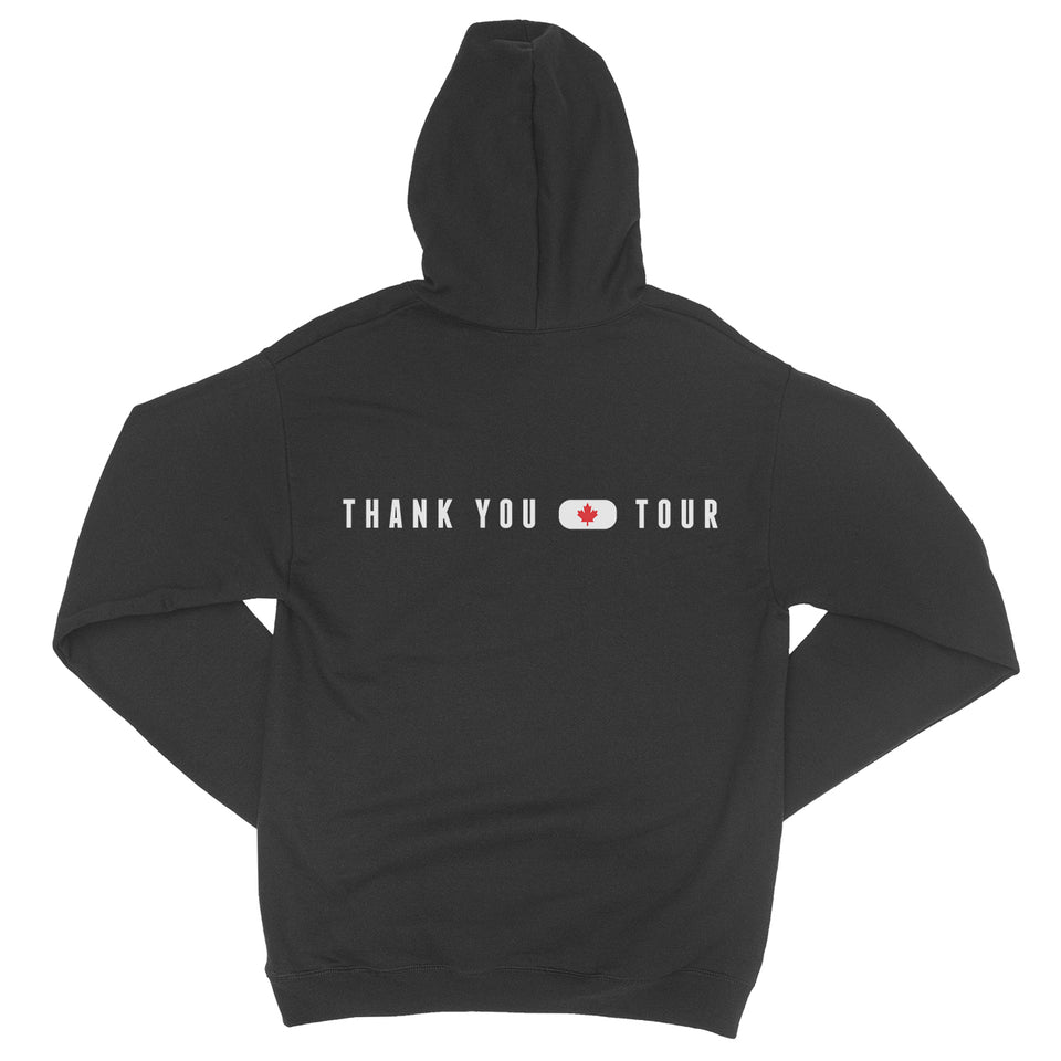 Thank You Canada Tour - Logo Pullover Hoodie - Black