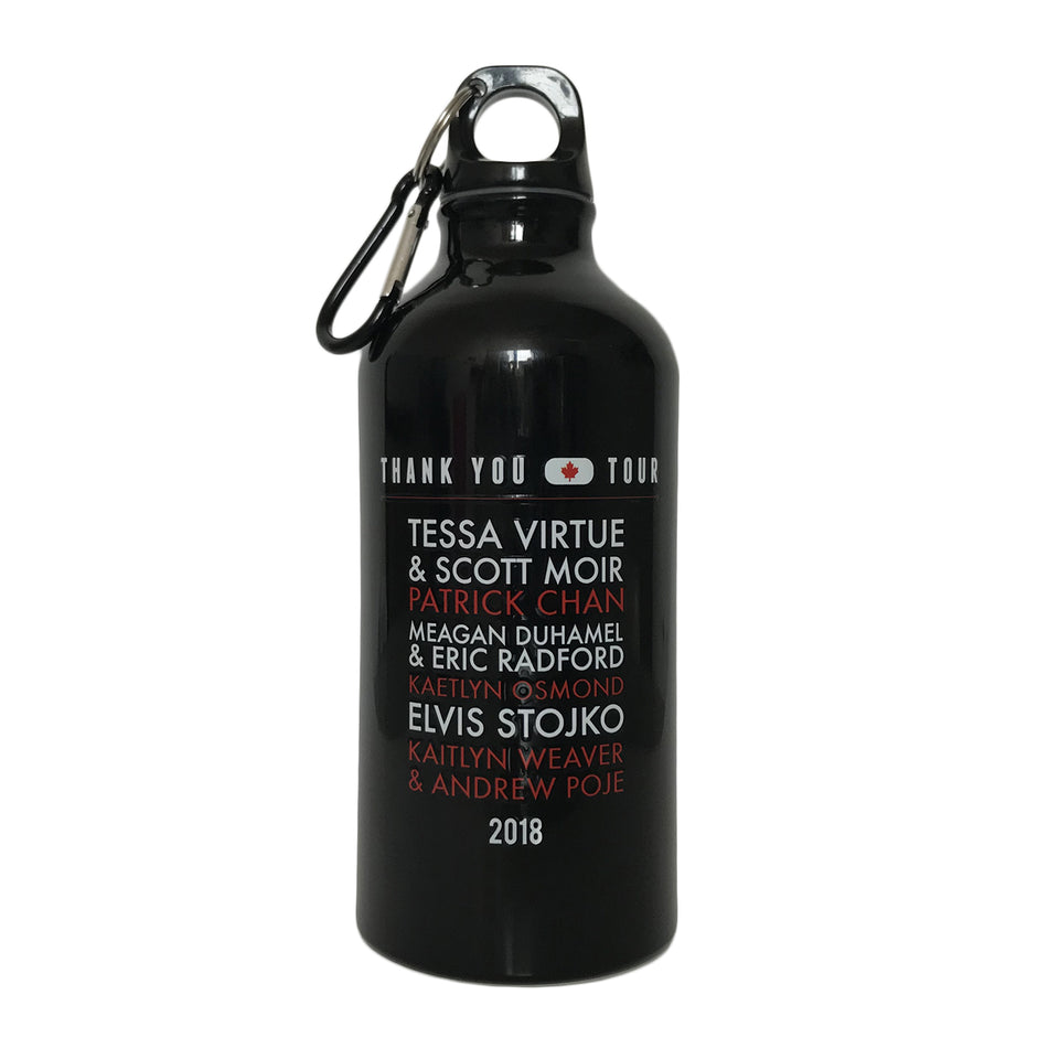 Thank You Canada Tour - Custom Water Bottle