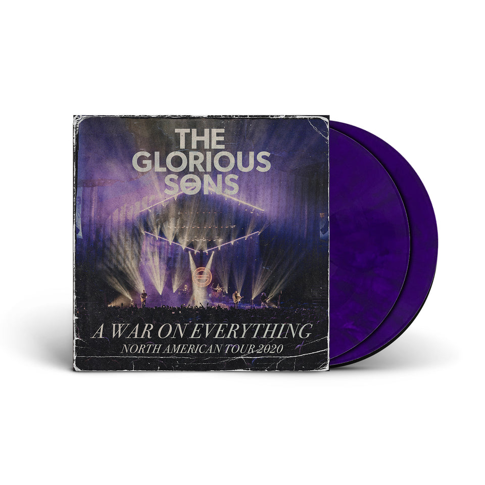 PRE ORDER - The Glorious Sons - A War On Everything - NA Tour 2020 - Double LP