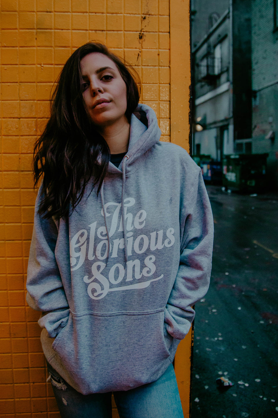 The Glorious Sons - TGS - Unisex Grey Pullover Hoodie