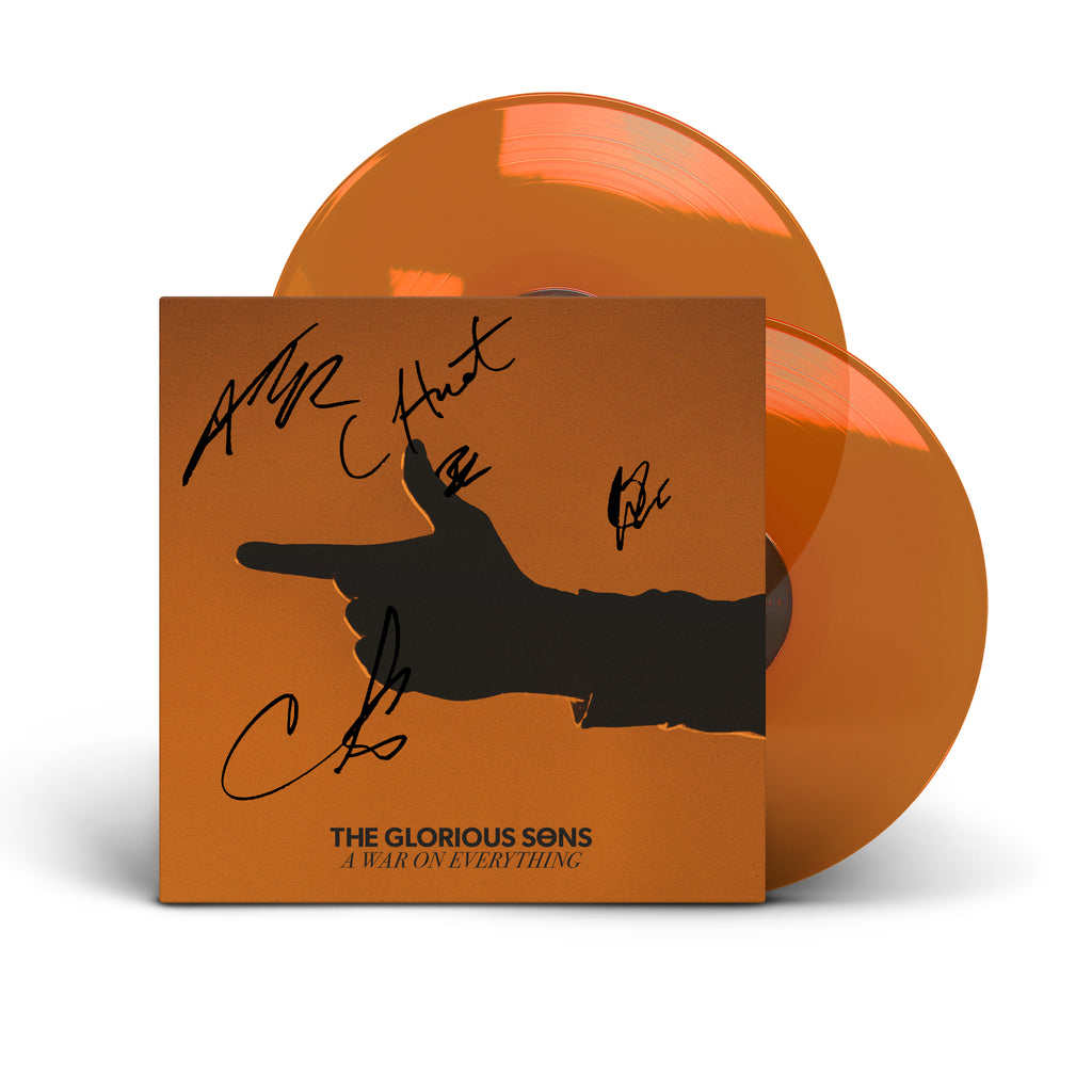 PRE ORDER - The Glorious Sons - A War On Everything Double Vinyl - Orange