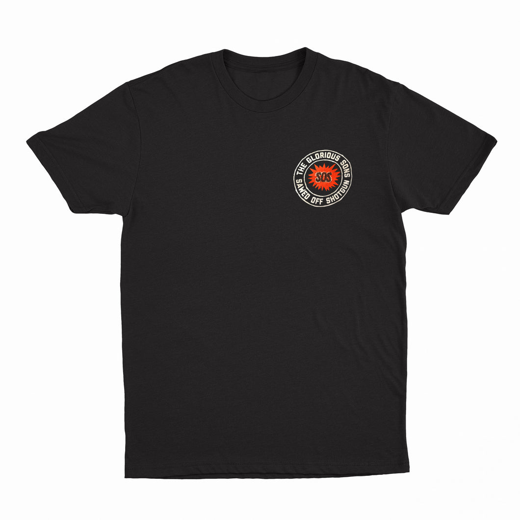 The Glorious Sons - SOS - Black Tee