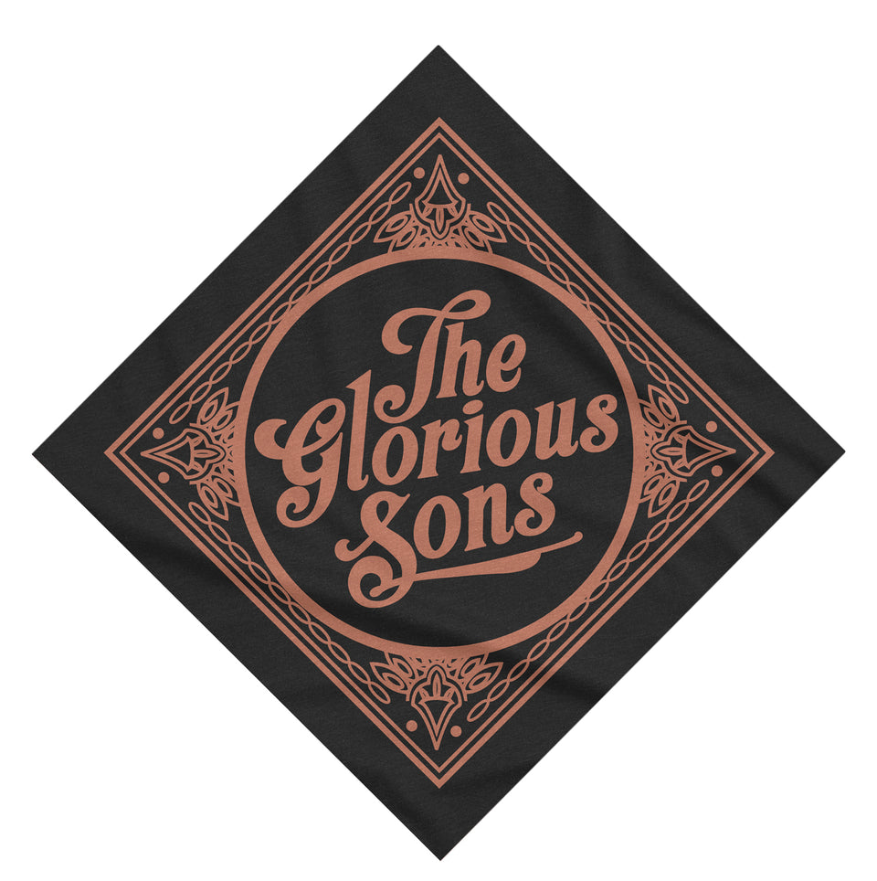 The Glorious Sons - Logo - Bandana