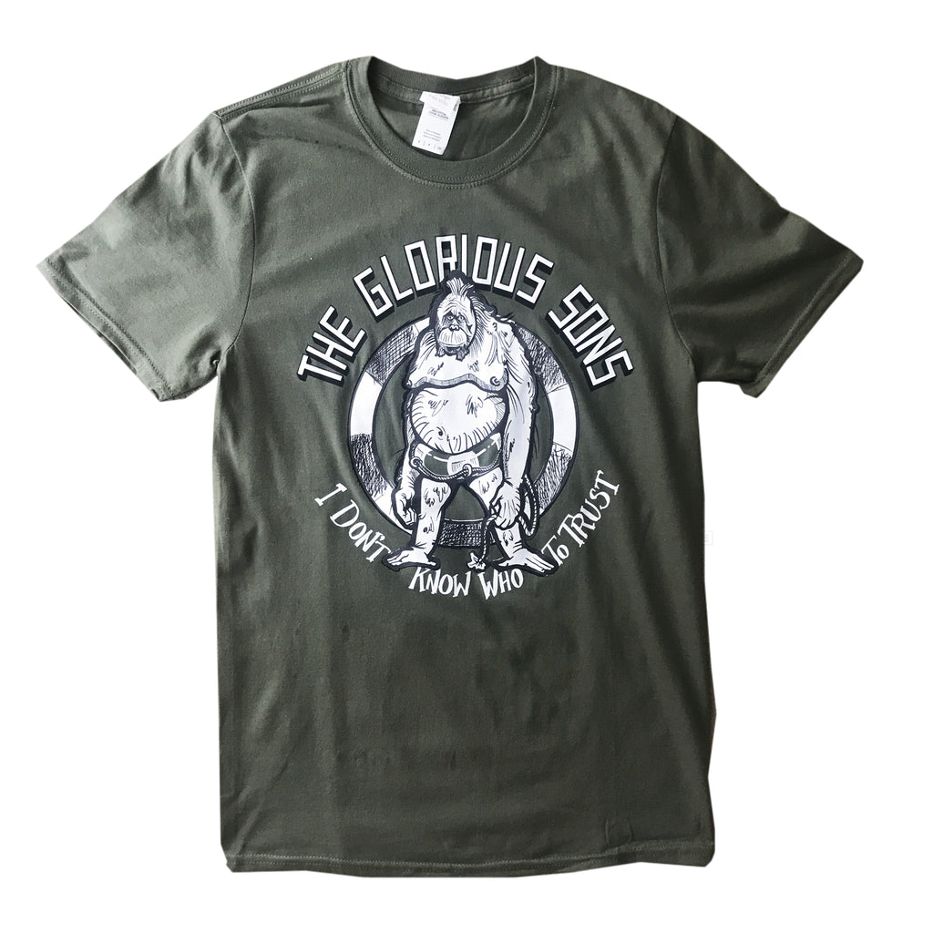 The Glorious Sons - Packer's Ape - Military Green Tee