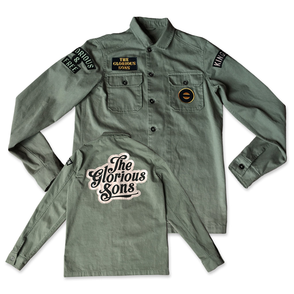 PRE ORDER - The Glorious Sons - Custom Army Jacket