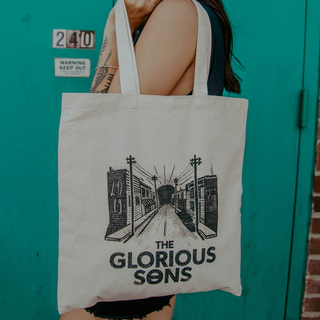The Glorious Sons - City Street - Natural Tote Bag