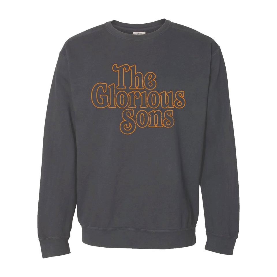 The Glorious Sons - Linework Logo - Crew Sweatshirt - Grey