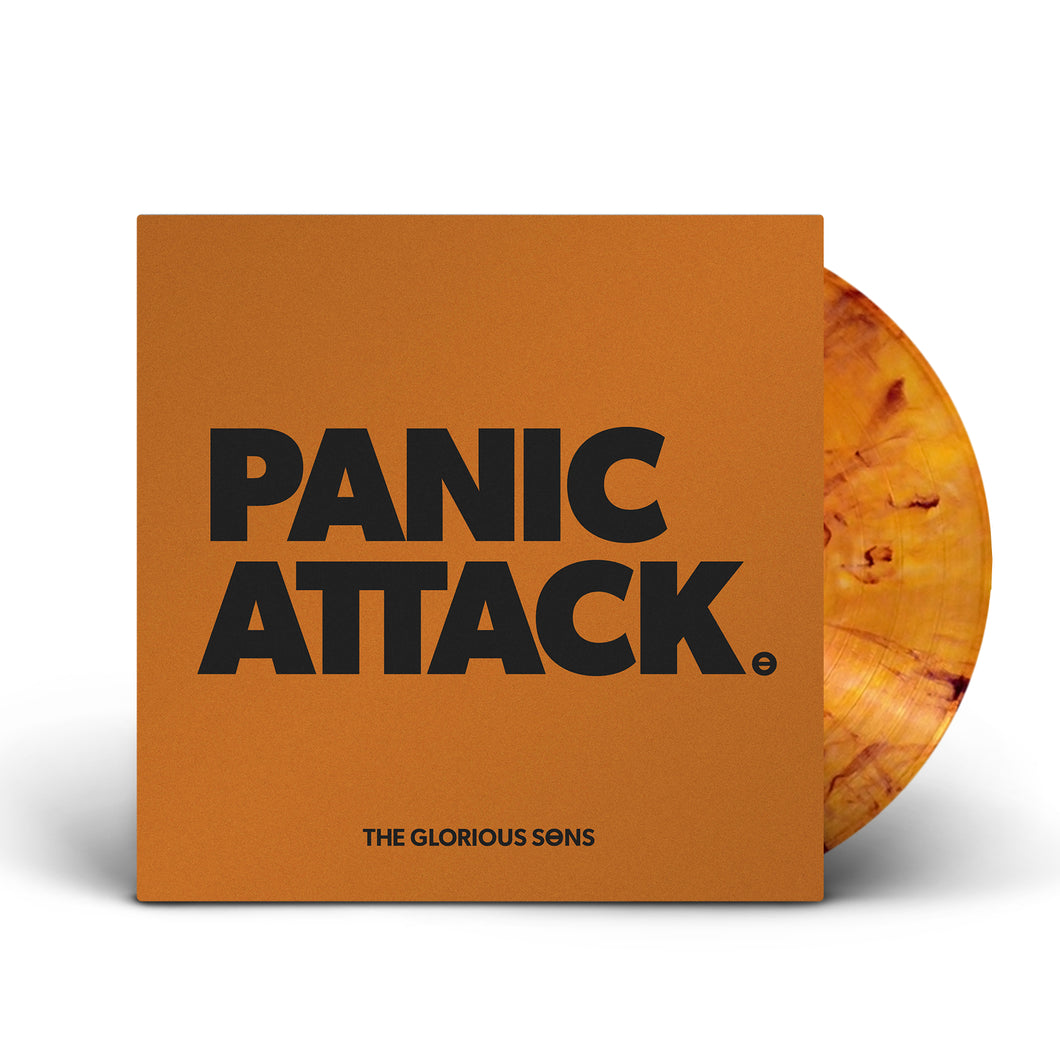PRE ORDER The Glorious Sons - Panic Attack Orange / Black 7