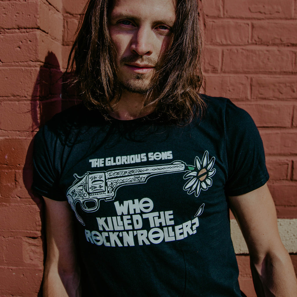 The Glorious Sons - Who Killed The Rock & Roller - Black Tee