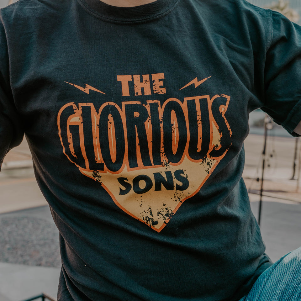 The Glorious Sons - Electric - Black Tee