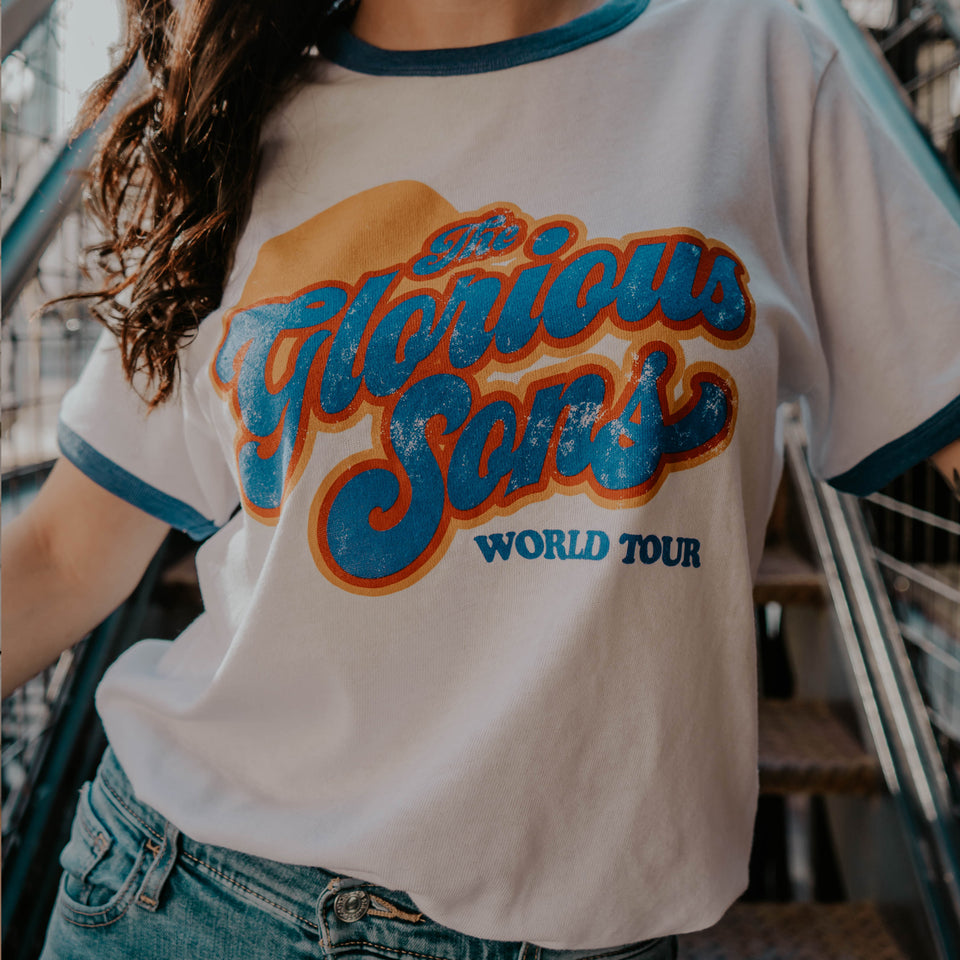 The Glorious Sons - 2020 World Tour - Ringer Tee