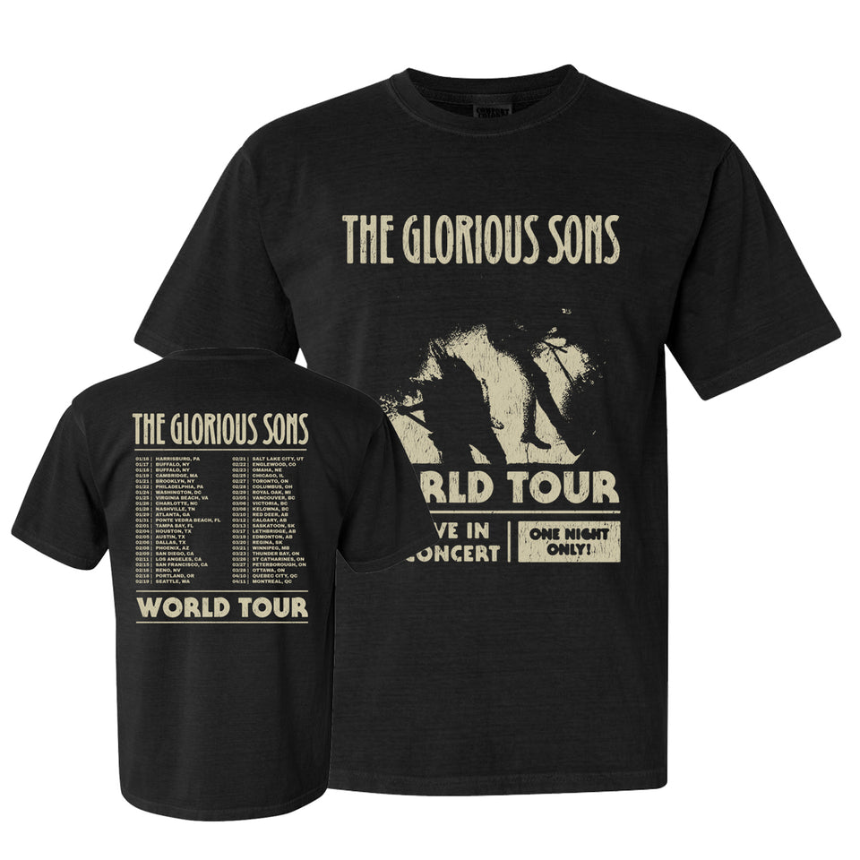 The Glorious Sons - 2020 World Tour - Black Tee
