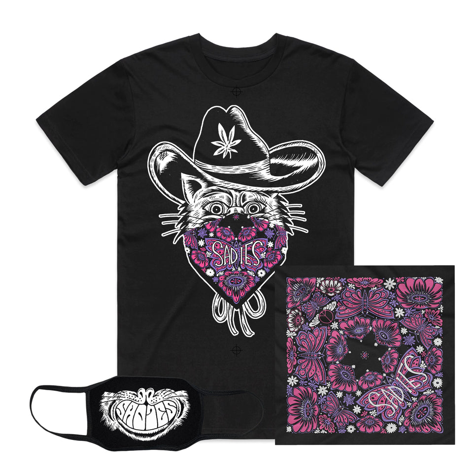 THE SADIES - Cat Tee - Bundle