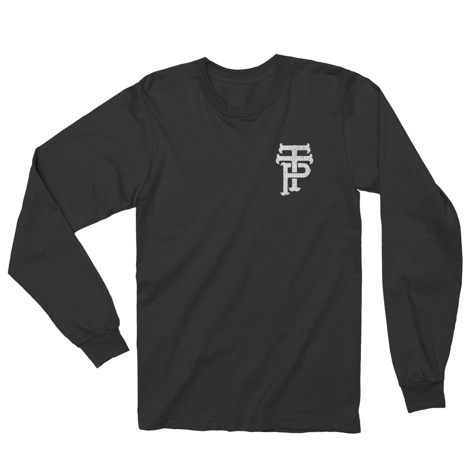 The Tea Party - TTP - Black Long Sleeve Shirt
