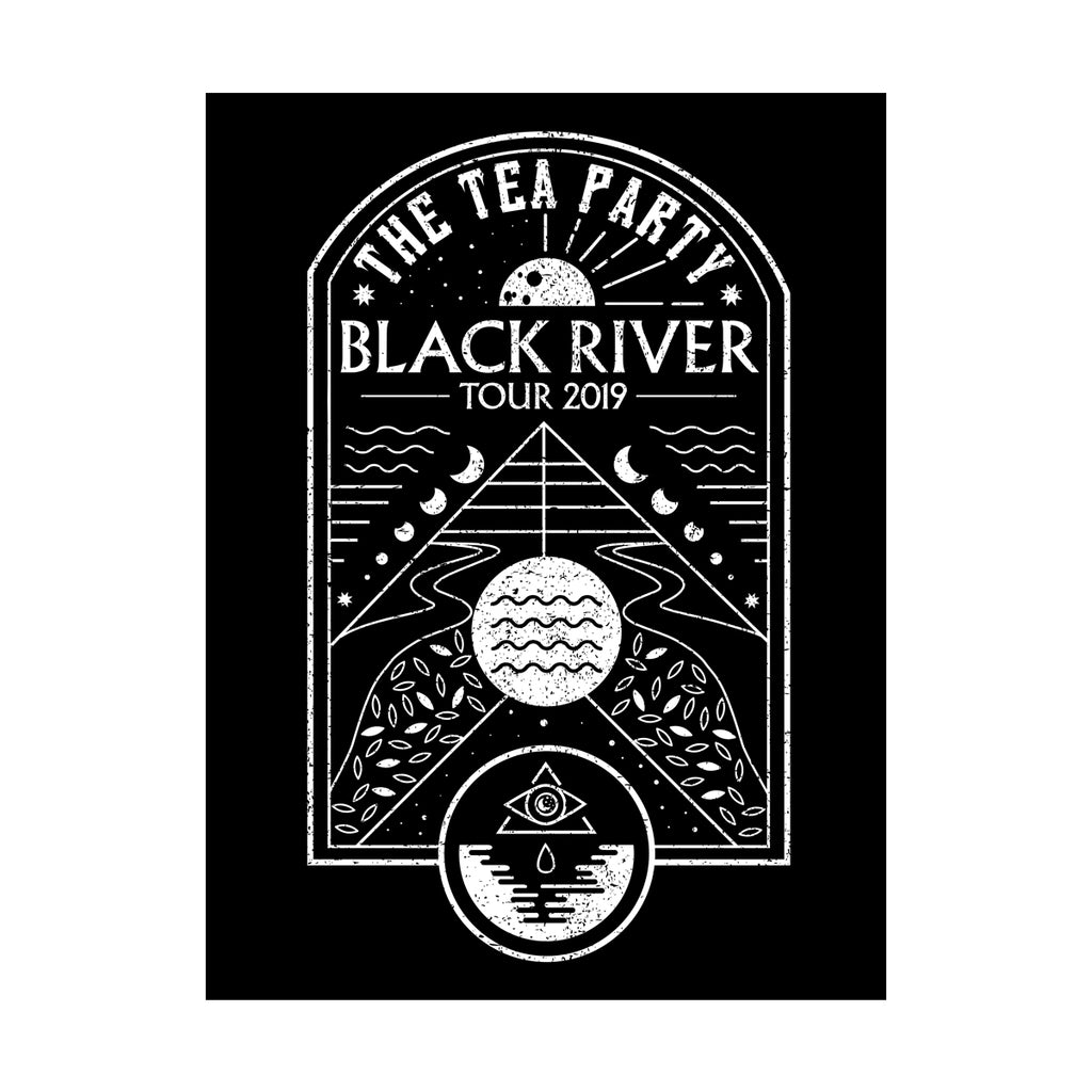 The Tea Party - Black River - Tour Poster