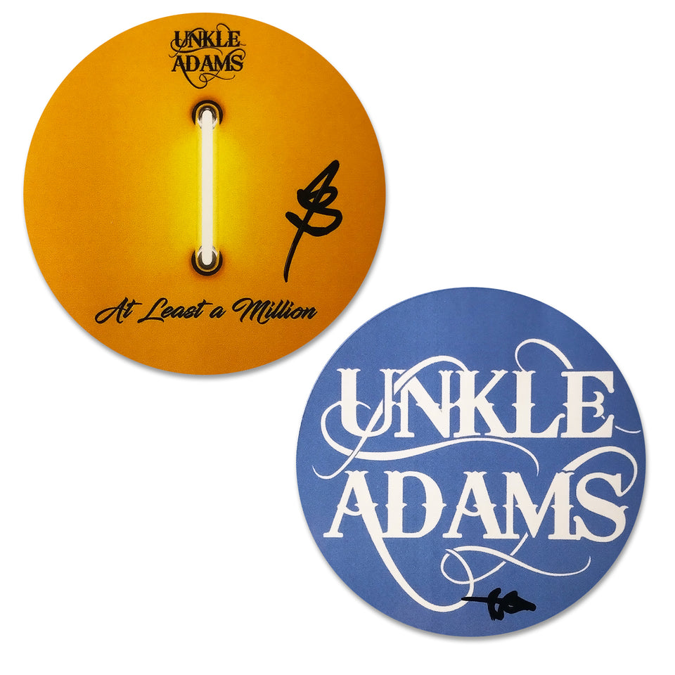 Unkle Adams - Sticker Pack - Initialed