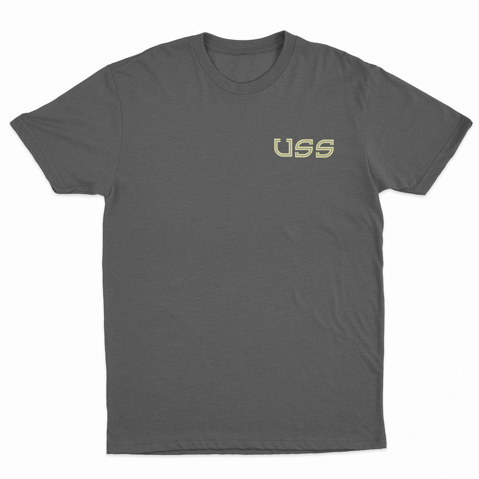 U.S.S. - Team Spirit - Heather Charcoal Tee
