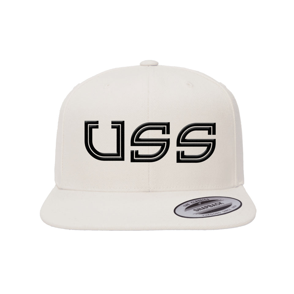 PRE ORDER - Natural Hatty - White Snapback Hat