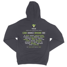 2018 VELD Official Festival Hoodie - Charcoal