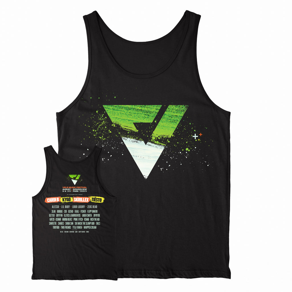2019 VELD  Official Festival Tank Top