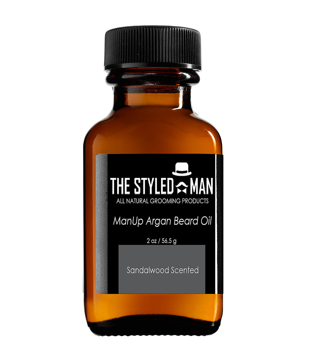 ManUp Argan Beard Oil
