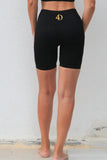 ROGUE Seamless Tight Shorts Black | ROGUE Dikişsiz Kısa Tayt Siyah