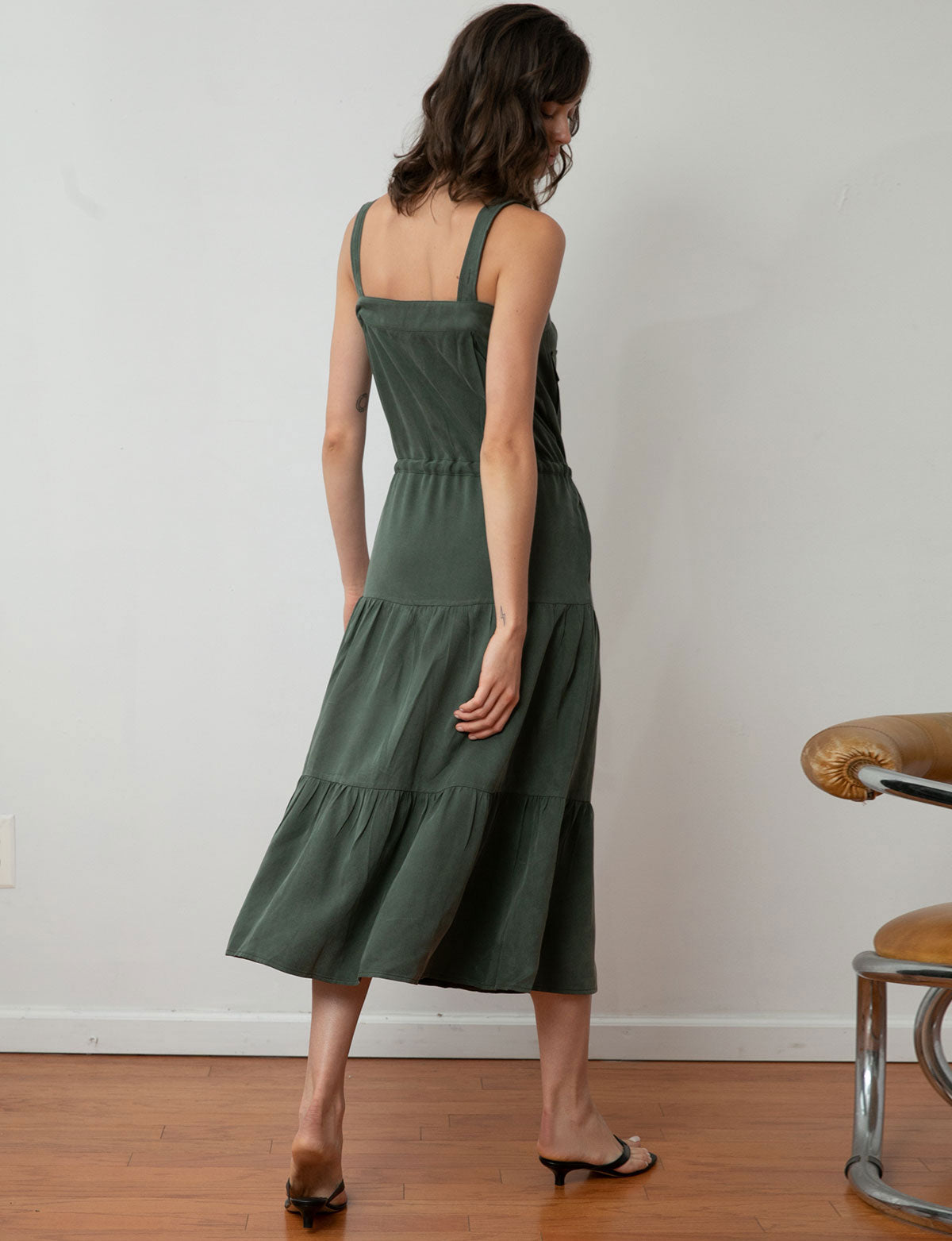 Ines Tencel Utility Maxi Dress -Preorder
