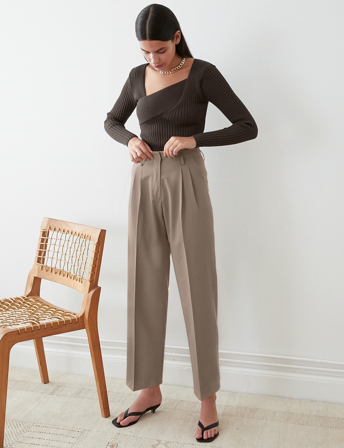 Scout Taupe Trousers