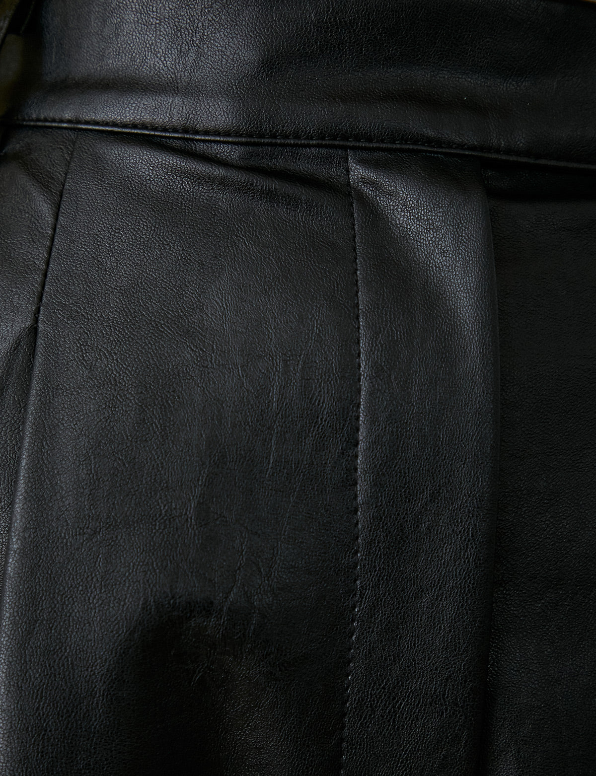 Jaime Vegan Leather Pants