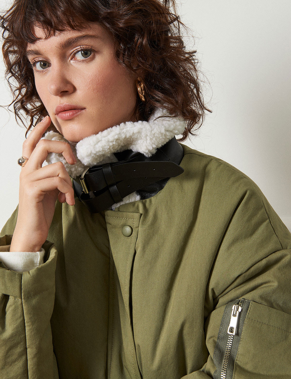 Olive Padded Coat