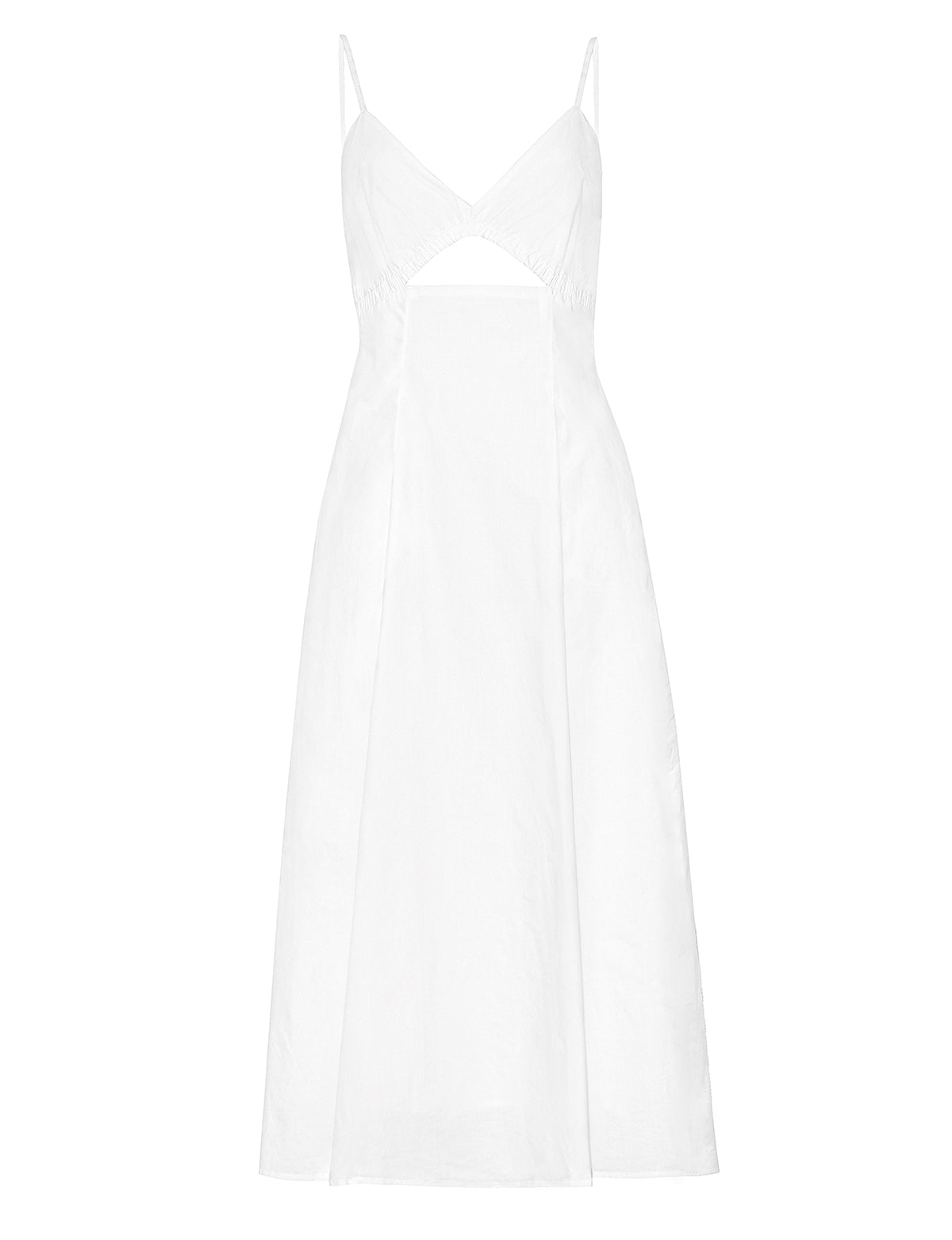 Santorini White Cut Out Dress