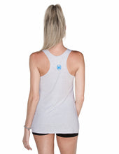 Courageous Hearts Chalk White Racerback Tank
