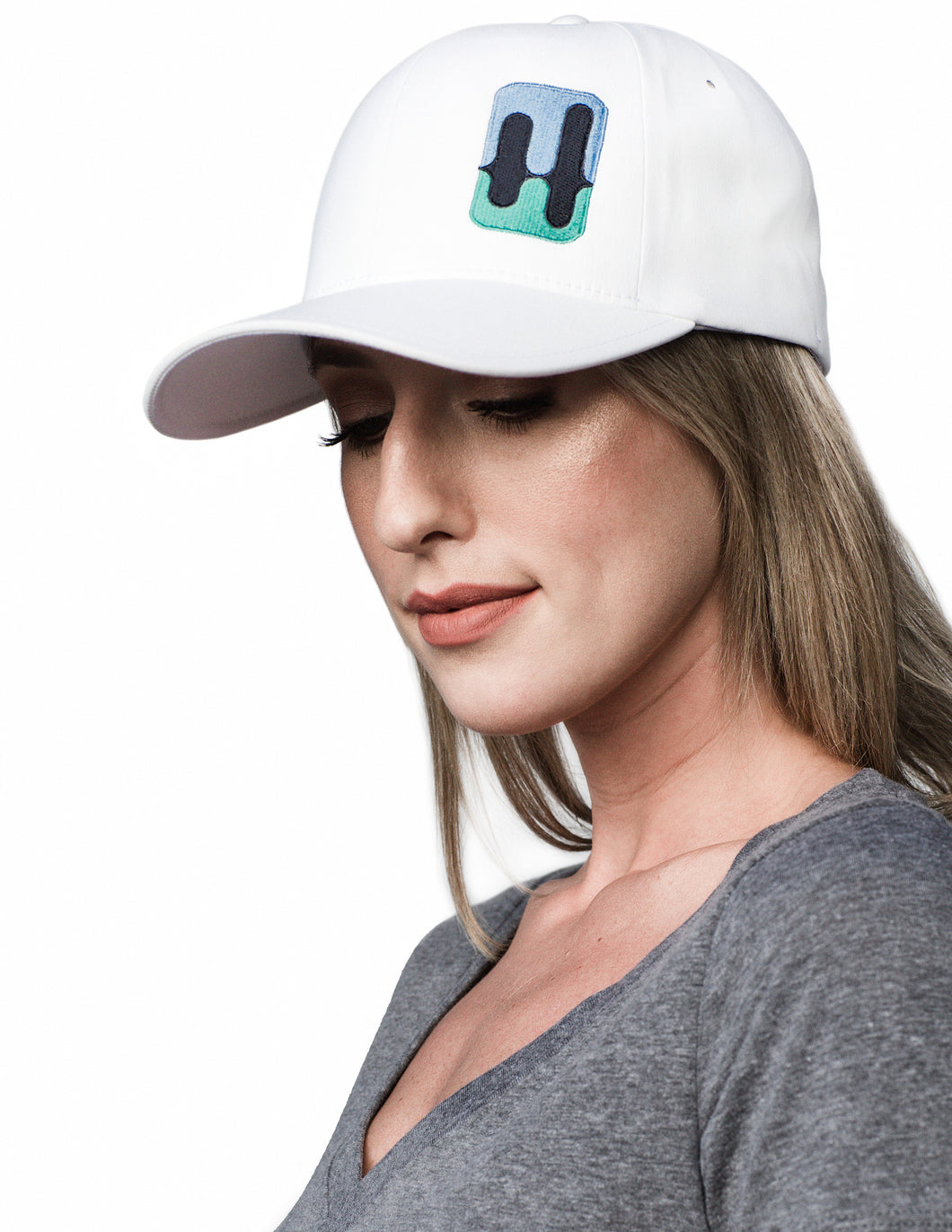 H Logo White Hat