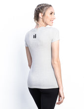 Pegasus Chalk White Deep V