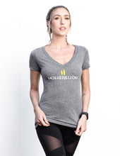 Hollerelloh Koala Grey Deep V