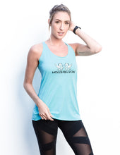Pegasus Blue Scream Racerback Tank