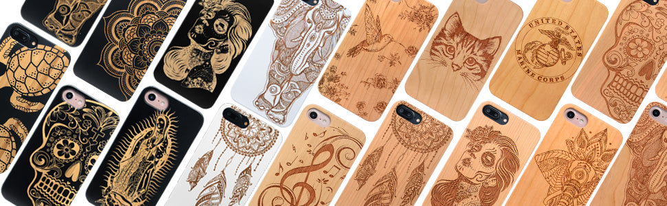 Custom Engraved Cell Phone Case with Logo, Picture, Text by iProducts US