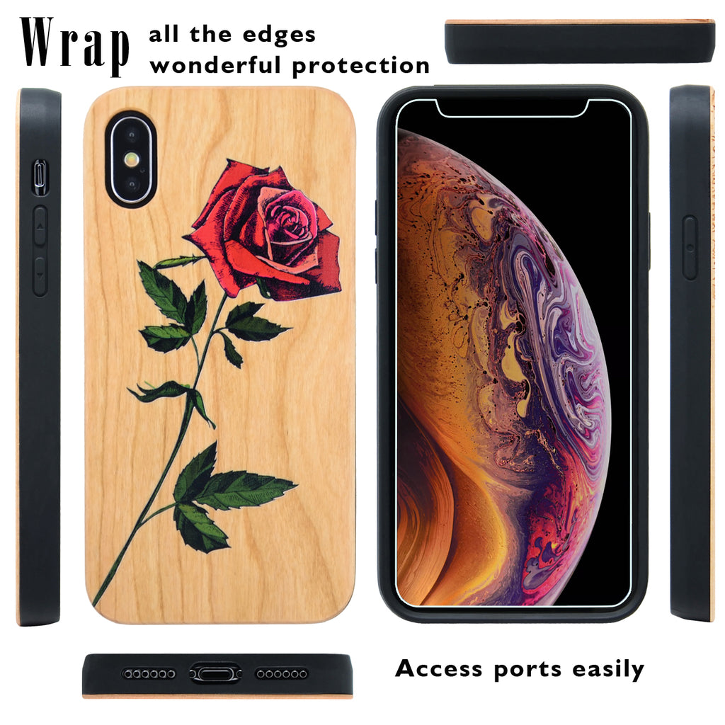 We have the new iPhone XS, XS Max, and XR Wood Cases in stock!