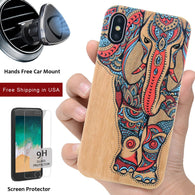 Color Wood 3D Printed Wood Protective Phone Cases by iProducts US