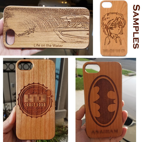 Custom Personalize Made iPhone or Galaxy Cases - Made with your Artwork to Perfection