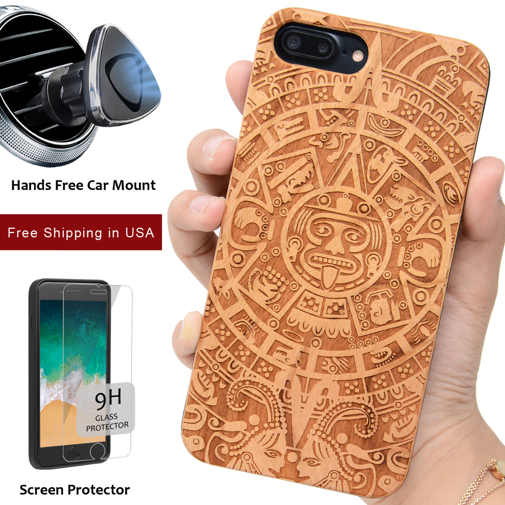 Mayan Calendar Wood by iProducts US