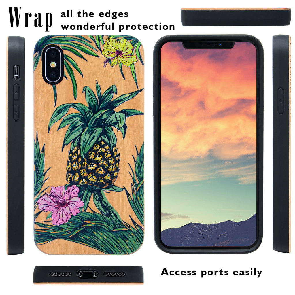 Pineapple iPhone XR Case by iProducts US