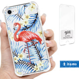 Flamingo Clear iPhone Case